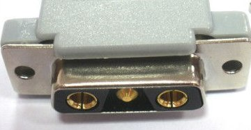 3 pin Sub-D 3W3 female photo and diagram