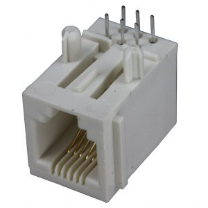 4 pin RJ11 female photo and diagram
