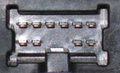 10 pin Nissan Head Unit proprietary photo