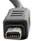 12 pin Olympus proprietary plug photo