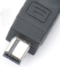 8 pin Nikon mini-USB proprietary photo