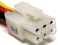 6 pin MiniFit Jr 5566-6 (MOLEX 39-01-2060) male photo
