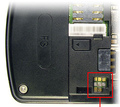 8 pin Motorola F3 cell phone proprietary photo